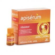 Apisérum Vitalidad Viales bebibles – Jalea Real y 12 Vitaminas – Multivitamínico