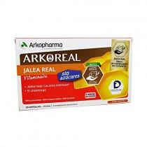 ARKOREAL JALEA REAL VITAMINADA SIN AZUCAR 15 ML 20 AMP