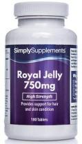 Jalea Real 750mg – 180 Comprimidos – Hasta 6 meses de suministro