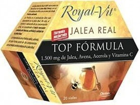 Jalea Real Top Formula Royal-Vit 20 ampollas de Dietisa