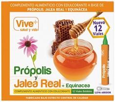 Vive+ Própolis con Jalea Real y Equinácea – 3 Paquetes de 12 Unidades